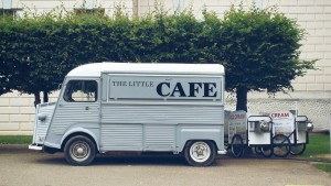 Tasty food trucks can be found throughout the city of Portland.